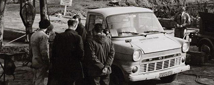 Old Ford van